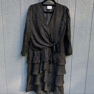 Vogue Designer Original Black Dress